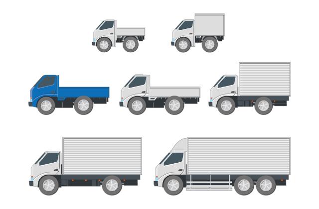 普通免許で運転できるトラックの最大積載量