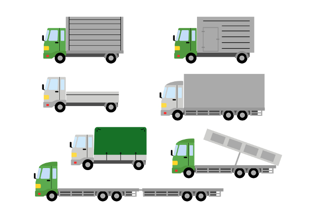 トラック運転免許区分