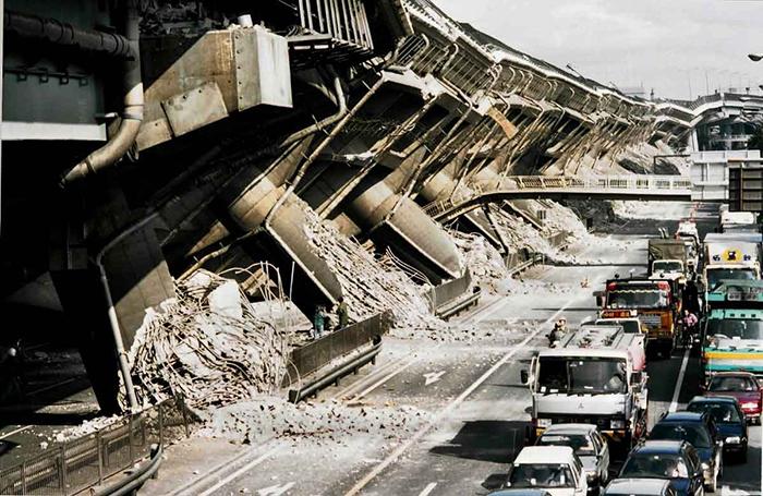 運転中の大地震