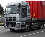 大型トラック停車時のプシューというブレーキ音は安全の証し!