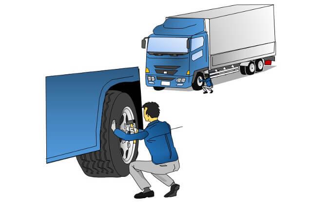 タイヤは消耗品!スリップサインを見逃すな!