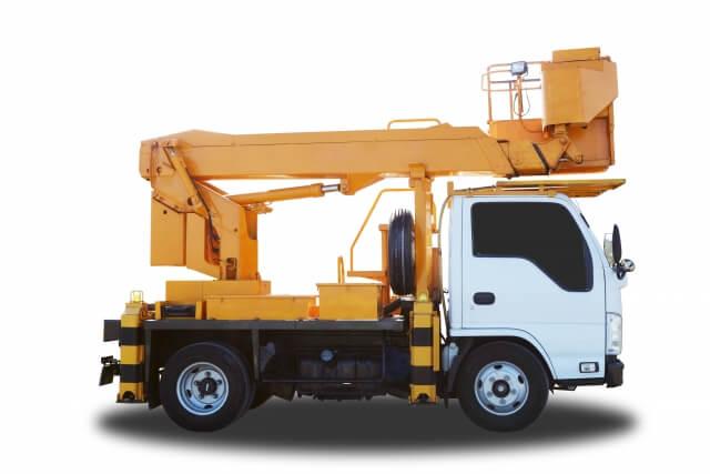 一般的な高所作業車「トラック搭載式高所作業車」とは?