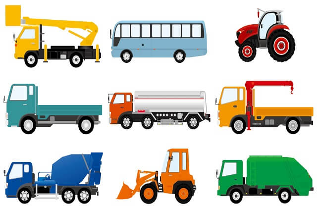 トラックの特徴はボディタイプで大きく異なる