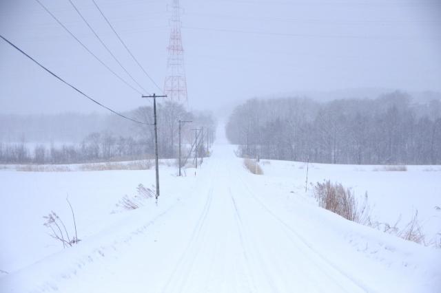 雪道ではトラックの安全走行が困難となる