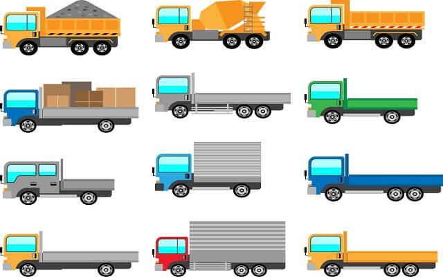国内で大型トラックを製造・販売するトラックメーカーは?