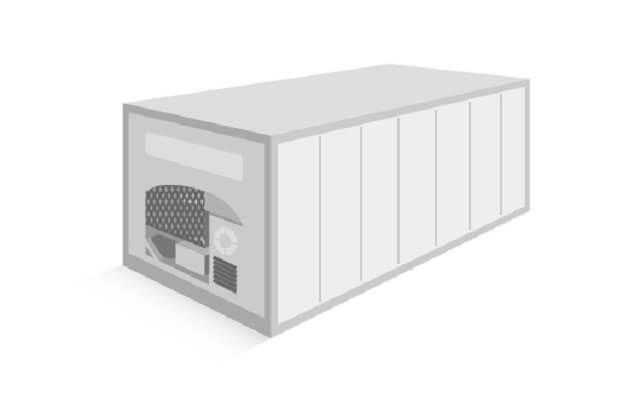 サーマルコンテナ:断熱処理と冷却装置の搭載で定温輸送が行えるコンテナ
