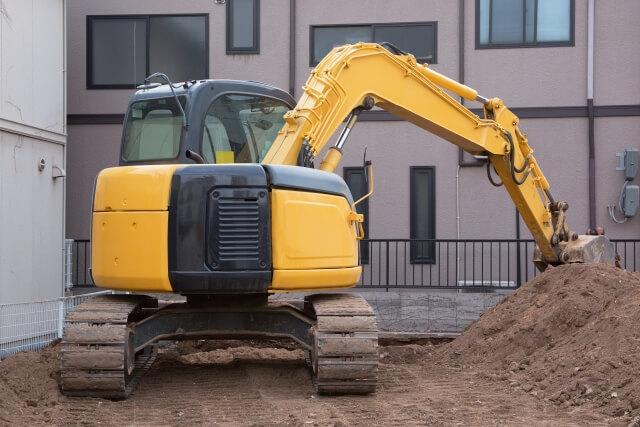 建設・土木工事現場を中心に活躍する働くクルマ!重機・建設機械とは?