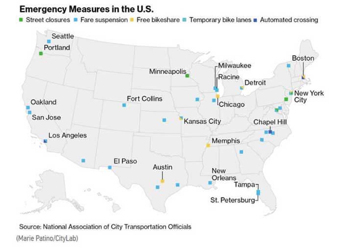 【図5-2.都市の緊急対応施策―米国(4月3日現在)】...ザ・トラック