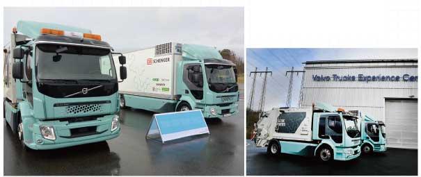 ボルボのFL 型電動車は、主として都市内で稼働する塵芥車を想定して開発が進められ2 軸配列で車両総重量は16トン。一方、より大きな車として3軸配列のFE 型電動車は車両総重量26トンまでカバーする...ザ・トラック