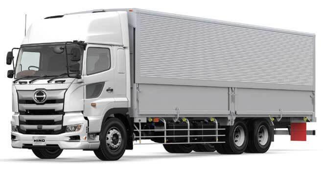 安全装備を大幅に拡充して発売された「日野プロフィア」...ザ・トラック