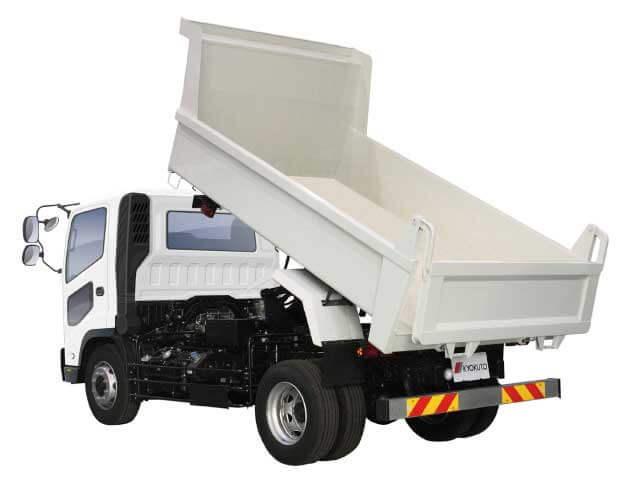 新型7トンリヤダンプトラック(耐摩耗鋼板仕様)...ザ・トラック