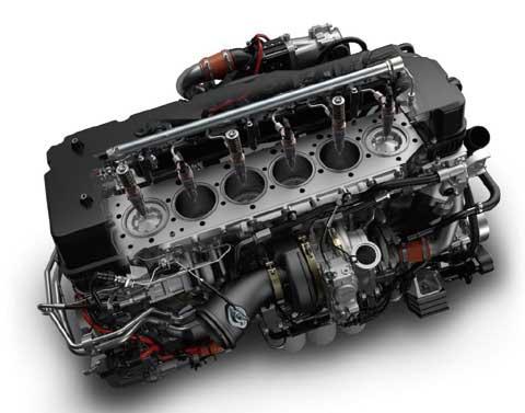 11リッターの新型GH11エンジン...ザ・トラック