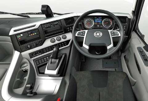 電子制御オートマチックトランスミッションESCOT-VI(エスコット・シックス)搭載のQuon...ザ・トラック