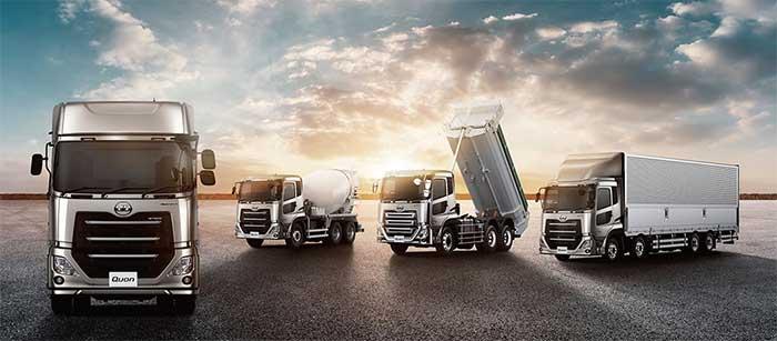 8Lエンジン搭載の大型トラックQuon...ザ・トラック
