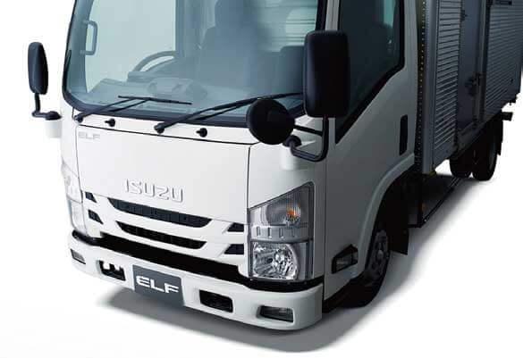 先進安全装置などが搭載された小型トラック「エルフ」...ザ・トラック