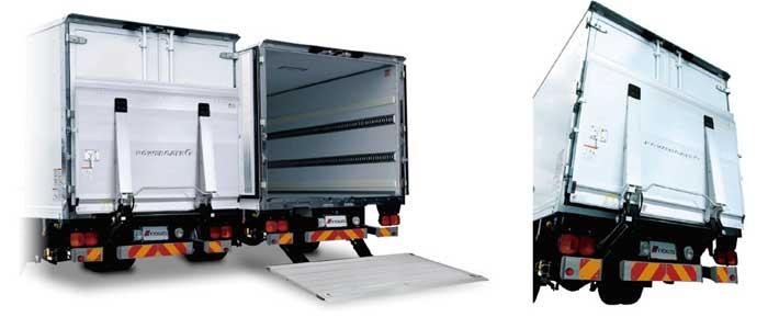 大幅な軽量化を実現「パワーゲート GⅡ1000」...ザ・トラック