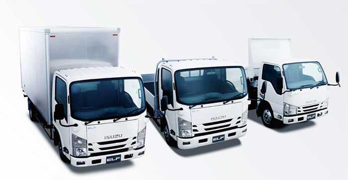 先進安全装置を標準装備した小型トラック「エルフ」...ザ・トラック