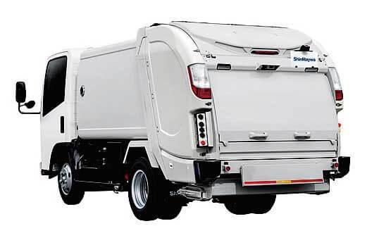 回転板式塵芥車-G-RX(2トン車級)の新モデル...ザ・トラック