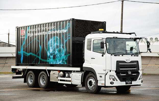 レベル4自動運転のUDトラックスの大型トラック...ザ・トラック