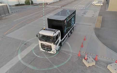 UDトラックス本社テストコースで公開されたレベル4 の自動運転のデモ...ザ・トラック