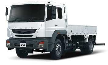 2018年に発表された中型トラック「FJ」...ザ・トラック