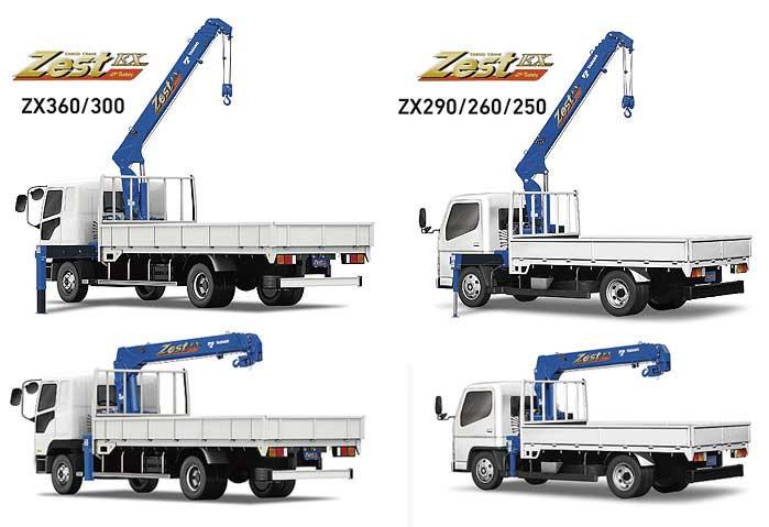 中型/小型トラック架装用カーゴクレーン「Zest(ゼスト)EX」シリーズ...ザ・トラック