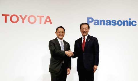トヨタ自動車とパナソニックは電池事業の合弁契約を締結した...ザ・トラック