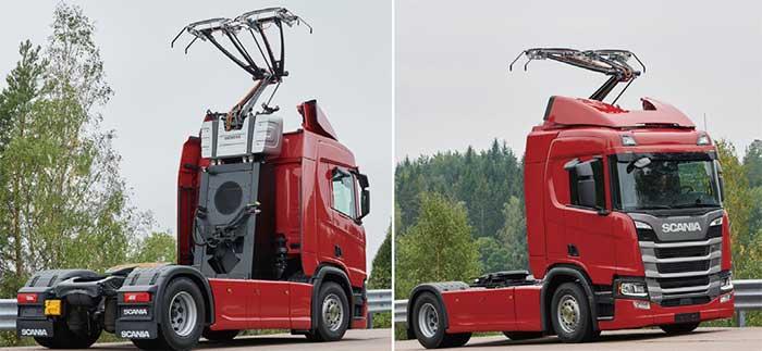 ドイツの「e ハイウェイ」に採用されたScaniaのハイブリッド型トラックR450...ザ・トラック