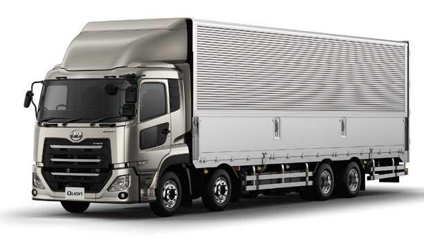 架装メーカーとの協業でボディの軽量化を実現させたパーフェクトQuonウィングボデー完成車...ザ・トラック