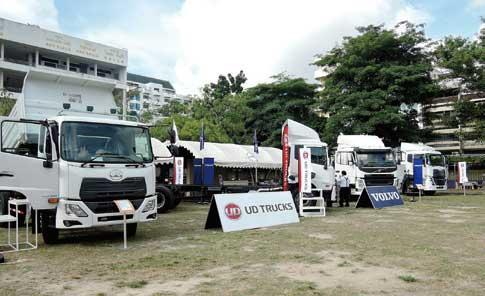 Questerはタイで製造されている。南部トラック協会(タイ・ハタヤイ)総会の展示コーナーに出展するUDトラックス...ザ・トラック