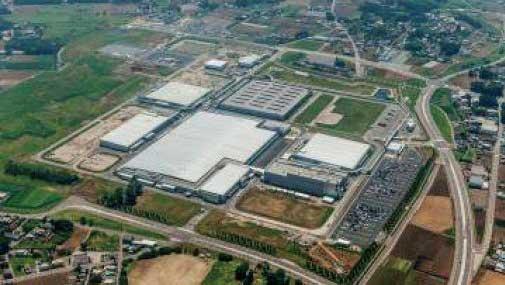 茨城県にある古川工場の敷地面積は約85 万㎡で日野工場の2倍ほどだ...ザ・トラック