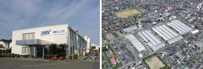 愛知県にある日本トレクスの本社工場...ザ・トラック