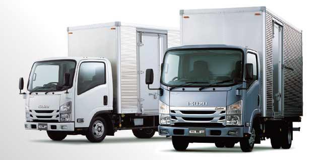 平成28年度排出ガス規制に対応した小型トラック「エルフ」...ザ・トラック