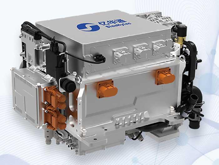 北京億華通科技股份有限公司(億華通)の燃料電池システム「YHTG40」...ザ・トラック