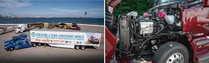 アメリカで試験運行が行われているトヨタのFC大型商用トラック...ザ・トラック