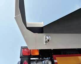 排出性を向上させた曲げ構造ボデーの内側...ザ・トラック