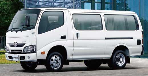 TOYOTAダイナルートバン1.25t積・3人乗りディーゼル車・2WD...ザ・トラック