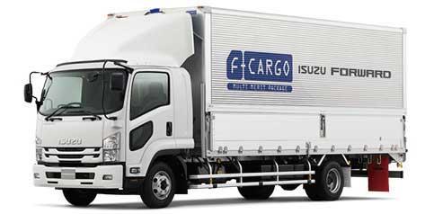いすゞ中型トラック「フォワード」F-cargo...ザ・トラック
