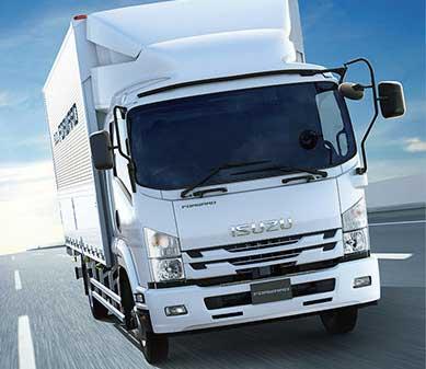 各種の安全装置が標準化された中型トラック「フォワード」...ザ・トラック