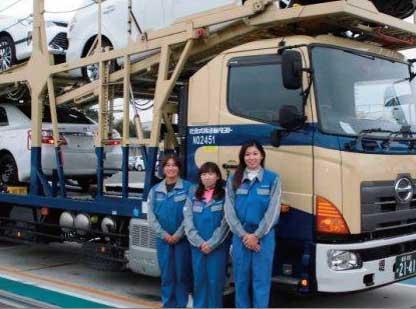 なんと21mもあるフルトレーラに憧れて、ドライバーを目指した3名のトラガールたち!...ザ・トラック