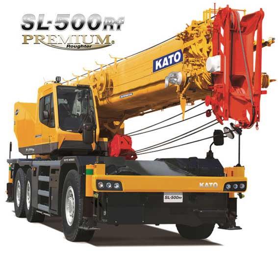 KATOの新型50t吊りラフター「SL-500Rf PREMIUM」...ザ・トラック
