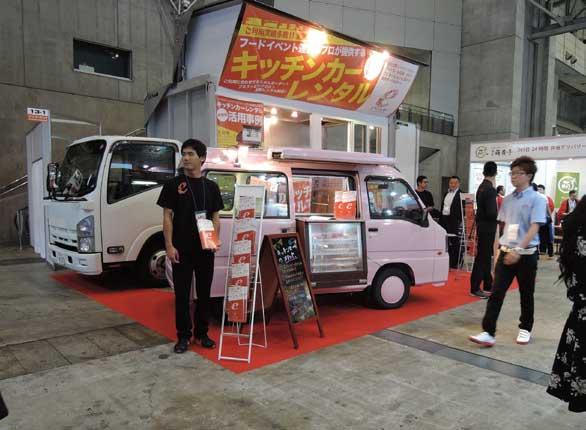 「ライブ&イベント産業展」はトラック系出展物も多い...ザ・トラック
