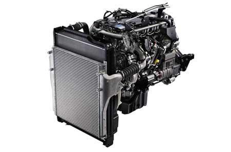 新開発の超軽量6S10型エンジン...ザ・トラック
