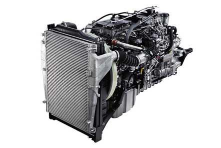 低燃費・低排出ガスを実現した新開発 6R20型エンジン...ザ・トラック