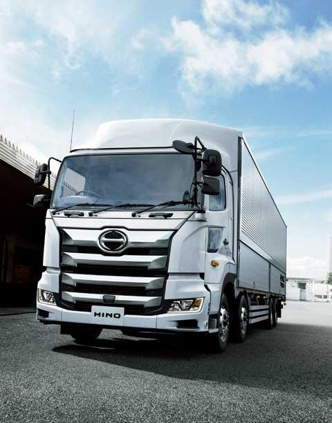 販売構成が伸びている4軸低床FW型車...ザ・トラック