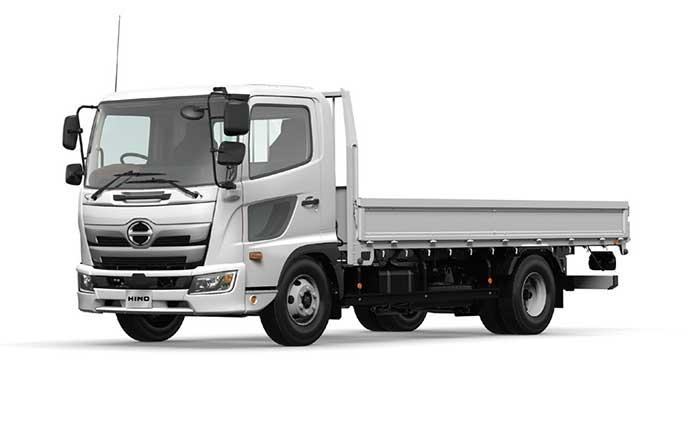 FC型標準平ボディ車。一部車種では尿素フリーの排気後処理システムが採用されている...ザ・トラック