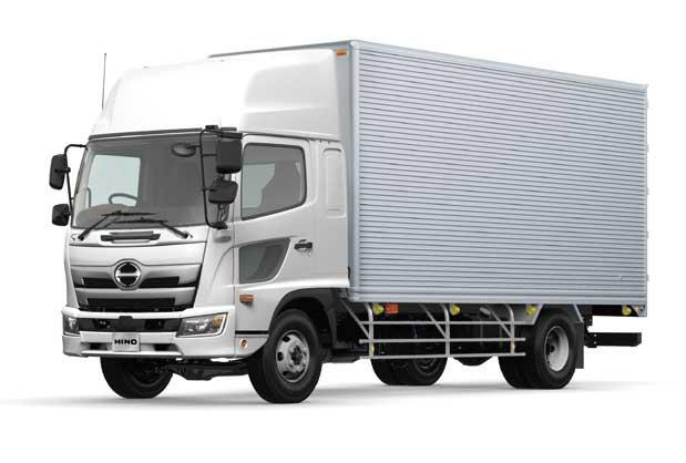 FX型バン型車架装例...ザ・トラック