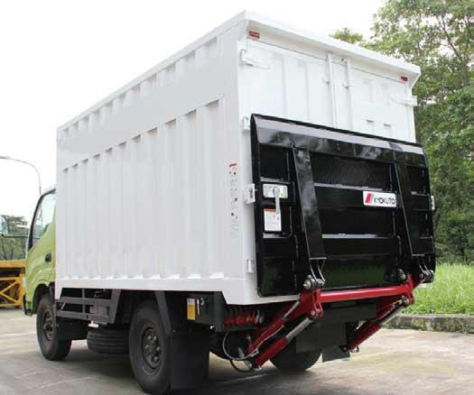 インドネシア仕様のテールゲートリフター...ザ・トラック