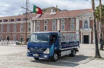 ポルトガル向けの「eCanter」...ザ・トラック