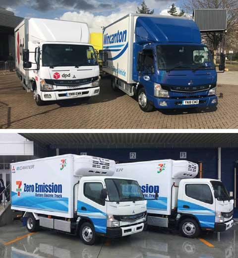 「eCanter」は世界の数多くの国で稼働している...ザ・トラック